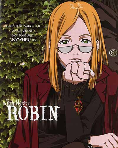 Witch Hunter Robin anime