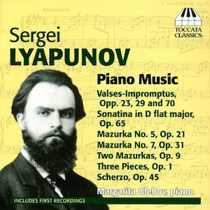 Browse Free Piano Sheet Music by Lyapunov.