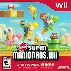 Browse Free Piano Sheet Music by New Super Mario Bros. Wii.
