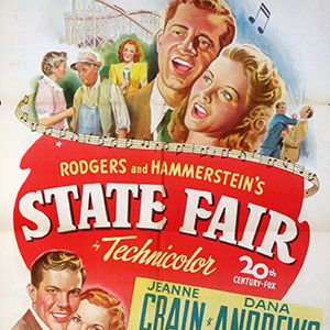 Browse Free Piano Sheet Music from the movie State Fair.