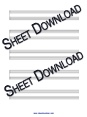 Thumbnail of First Page of Beautiful sheet music by Christina Aguilera