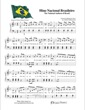 Thumbnail of First Page of Hino Nacional Brasileiro - The National Anthem of Brazil sheet music by Kids