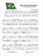 Thumbnail of First Page of Hino Nacional Brasileiro - The National Anthem of Brazil sheet music by Kids