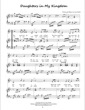 Thumbnail of First Page of Daughters in My Kingdom sheet music by Amy Webb
