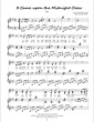 Thumbnail of First Page of It Came Upon a Midnight Clear sheet music by Amy Webb