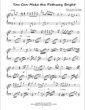 Thumbnail of First Page of You Can Make the Pathway Bright sheet music by Amy Webb