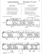 Thumbnail of First Page of Liebestraume (Dreams of Love) No. 1 in A-flat Major sheet music by Franz Liszt