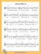 Thumbnail of First Page of Jingle Bells (B Flat Major) sheet music by Christmas Carol