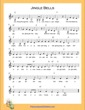 Thumbnail of First Page of Jingle Bells (C Major) sheet music by Christmas Carol