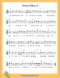 Thumbnail of First Page of Jingle Bells (C Major) High sheet music by Christmas Carol