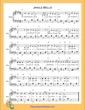 Thumbnail of First Page of Jingle Bells (E Major)  sheet music by Christmas Carol