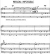 Thumbnail of First Page of Mission Impossible sheet music by Mission Impossible