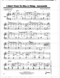 Thumbnail of First Page of I Don't Wanna Miss a Thing sheet music by Aerosmith