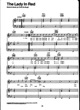 Thumbnail of First Page of The Lady In Red sheet music by Chris de Burgh