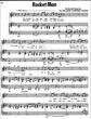 Thumbnail of First Page of Rocket Man (2) sheet music by Elton John
