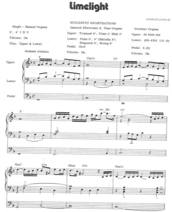 Thumbnail of first page of Limelight piano sheet music PDF by Elvis Presley.