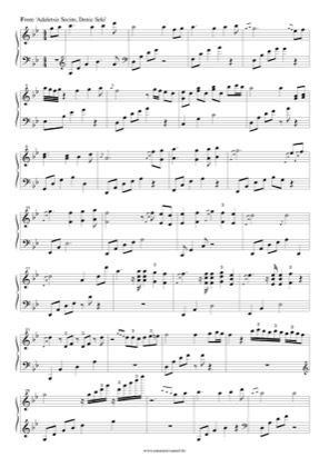 Thumbnail of first page of Adaletsiz Seçim piano sheet music PDF by Deniz Seki.