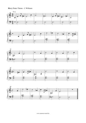 Harry Potter Theme 2 Harry Potter Free Piano Sheet Music Pdf