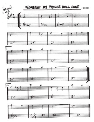 Some Day My Prince Will Come Frank Churchill Free Piano Sheet Music Pdf