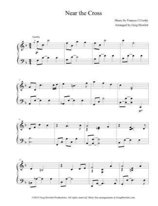 Thumbnail of first page of Alfie  piano sheet music PDF by Alfie.