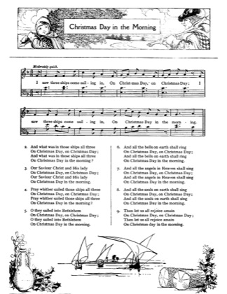 Thumbnail of first page of Christmas Day in the Morning piano sheet music PDF by Christmas.
