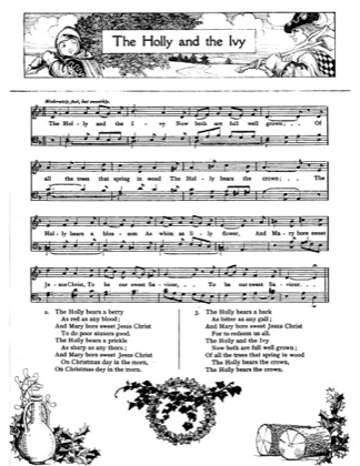 Thumbnail of first page of The Holly and the Ivy (3) piano sheet music PDF by Christmas.