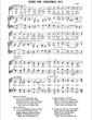 Thumbnail of First Page of Hymn for Christmas Day sheet music by Christmas