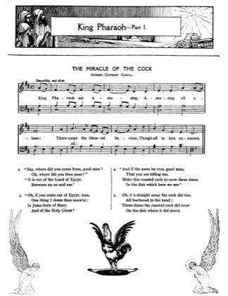 Thumbnail of first page of King Pharoah piano sheet music PDF by Christmas.