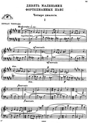 Thumbnail of first page of Little Pieces for Piano, Sz.82 piano sheet music PDF by Bartok.