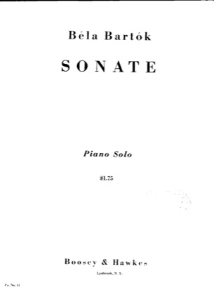 Print and download for free: Piano Sonata, Sz.80 piano sheet music by Bartok.