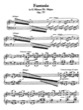 Thumbnail of First Page of Fantasia in G Minor / Bb Major, Op.77 sheet music by Beethoven