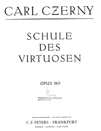 Thumbnail of first page of Book No.1: Etudes Nos.1-12 piano sheet music PDF by Czerny.