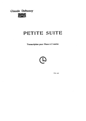 Thumbnail of first page of Petite Suite piano sheet music PDF by Debussy.