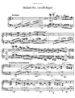 Thumbnail of First Page of Ballade No.1, S.170 sheet music by Liszt
