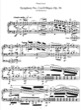 Thumbnail of First Page of Symphony No.2 in D major, Op.36 (S.464/2) sheet music by Liszt