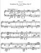 Thumbnail of First Page of Symphony No.5 in C minor, Op.67 (S.464/5) sheet music by Liszt
