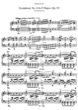 Thumbnail of First Page of Symphony No.8 in F major, Op.93 (S.464/8) sheet music by Liszt