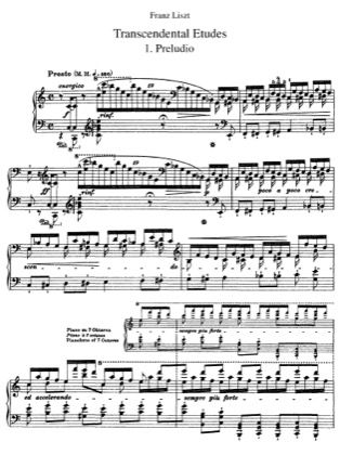 Thumbnail of first page of 12 Etudes d'execution transcendante, S.139 piano sheet music PDF by Liszt.