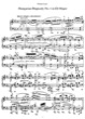 Thumbnail of First Page of Hungarian Rhapsody No.4, S.244/4 sheet music by Liszt