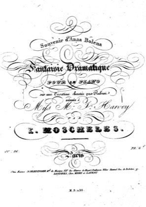 Thumbnail of first page of Fantaisie dramatique, Op.86b piano sheet music PDF by Moscheles.