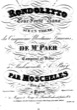 Thumbnail of First Page of Rondoletto, Op.61 sheet music by Moscheles