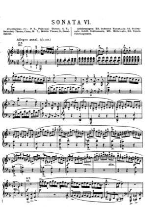 Thumbnail of first page of Piano Sonata in F major, K.280 piano sheet music PDF by Mozart.