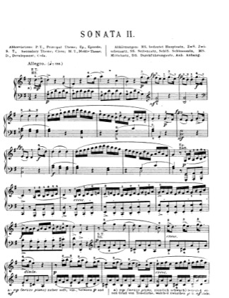 Thumbnail of first page of Piano Sonata in G major, K.283 piano sheet music PDF by Mozart.