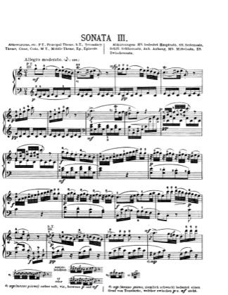 Thumbnail of first page of Piano Sonata in C major, K.330 piano sheet music PDF by Mozart.