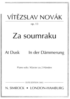 Thumbnail of first page of At Dusk, Op.13 piano sheet music PDF by Novak.
