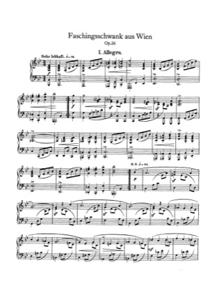 Print and download for free: Faschingsschwank aus Wien, Op.26 piano sheet music by Schumann.