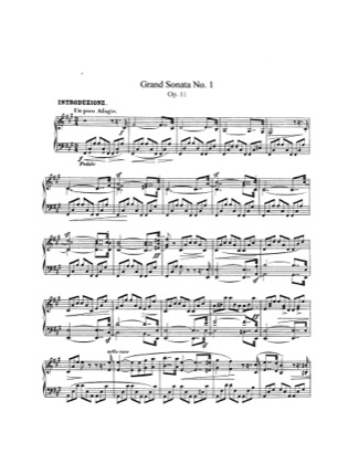 Print and download for free: Grand Sonata No.1, Op.11 piano sheet music by Schumann.