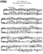 Thumbnail of First Page of Prelude and Fugue Op. 21 sheet music by Tchaikovsky