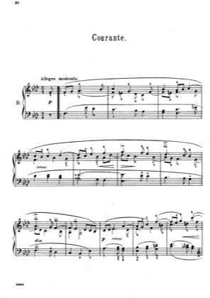 Thumbnail of first page of Pieces No. 9-12 piano sheet music PDF by Scarlatti.