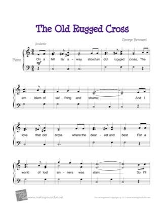 George Bennard Piano Sheet Music